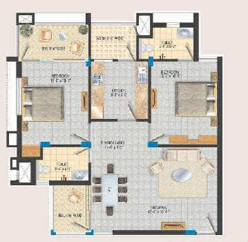 2 BHK Flats & Apartments for Sale in Shankar Nagar, Raipur