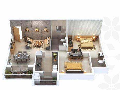 2 BHK Flats & Apartments for Sale in Raipur
