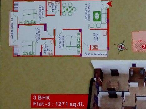 3 BHK Flats & Apartments for Sale in Varanasi