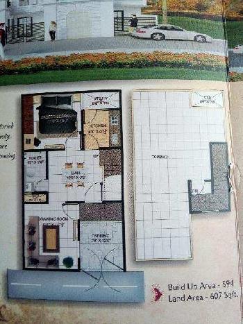1 BHK Individual House for Sale in Rohania, Varanasi