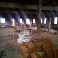 1200sqmt. Industrial Property 117sqmt Buildup for Sale At Pilerne, North-goa