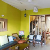3 Bhk Row Villa, field view for Sale in Guirim-Mapusa, North-Goa (1.40Cr)