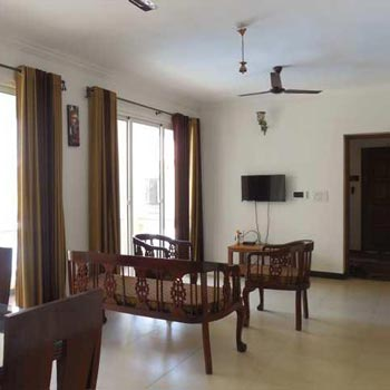 2 Bhk 95sqmt flat furnished for Sale in Siolim, North-Goa.(75L)
