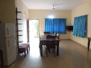 3 Bhk Row Villa 115sqmt furnished for Rent in Ribandar, North-Goa.(30k)
