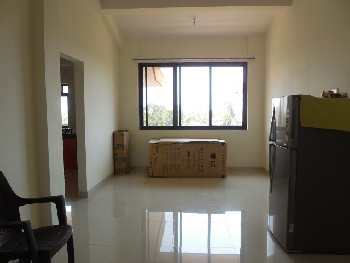 1 Bhk 64sqmt flat Semi-furnished for Rent in Madel-Thivim, North-Goa.(12k)