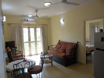 1 Bhk 63sqmt flat Furnished for Sale in Arpora, North-Goa.(44L)