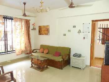 1 Bhk 60sqmt flat furnished for Rent in Calangute, North-Goa.(18k)