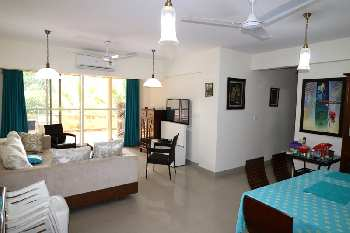 2 Bhk 168sqmt flat with terrace for Sale in Porvorim, North-Goa.(95L)