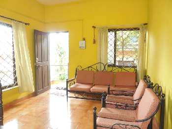 2 Bhk 60sqmt flat for Rent in Duler-Mapusa, North-Goa. (13k)
