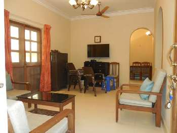 2 Bhk 86sqmt flat furnished for Rent in Candolim, North-Goa.(30k)