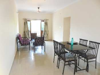 2Bhk 101sqmt flat Semi-furnished for Rent in Verem, North-Goa. (23k)