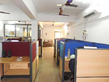 90sqmt Office fully furnished for Rent in St.Inez, Panjim, North-Goa.(75k)