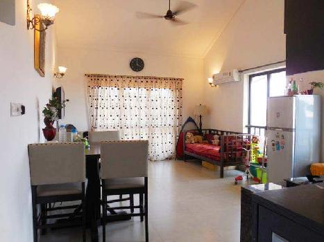 1Bhk 68sqmt flat with terrace for Sale in Salvador do Mundo, Porvorim, North-Goa.(62L)