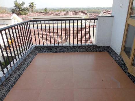 1Bhk 68sqmt flat with terrace for Sale in Salvador do Mundo, Porvorim, North-Goa.(62L)