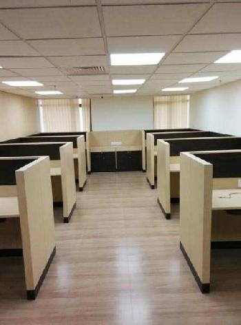 Commercial property for 225 seated work stations .