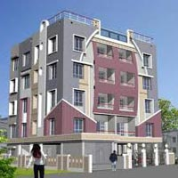 3BHK flat in dhakuria