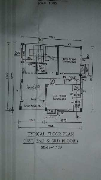 1 BHK Flats & Apartments for Sale in Gitanjali Park, Kolkata