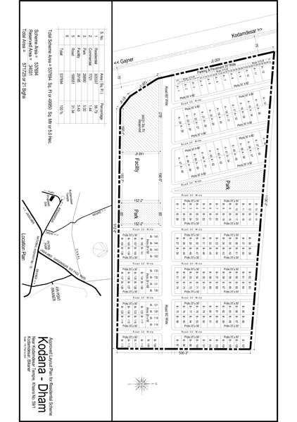 1800 Sq.ft. Residential Plot for Sale in Kodamdesar, Bikaner