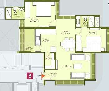 2 Bhk Flat For Sale In South Bopal