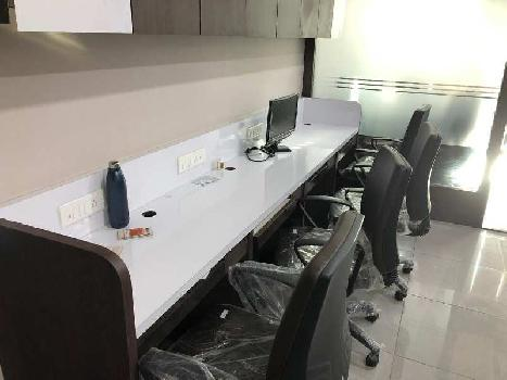 Fully Furnished Office for Rent at Thaltej