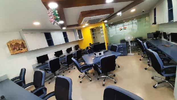 Fully Furnished Office for Rent at S.G. Highway - Shivalik Shilp