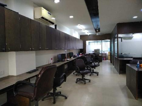 Fully Furnished Office for Rent at Prahladnagar - Ashirwad Paras