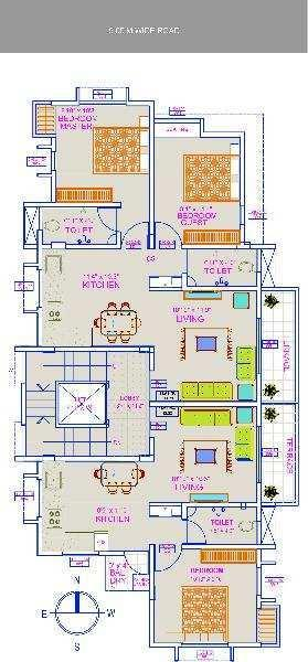 2 BHK Flats & Apartments for Sale in Miraj Kupwad, Sangli