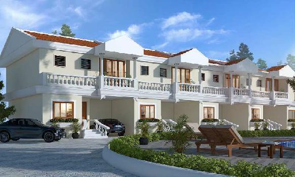 3 BHK Semi detched row villa