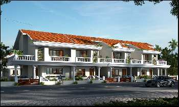 4 BHK semi detched villa