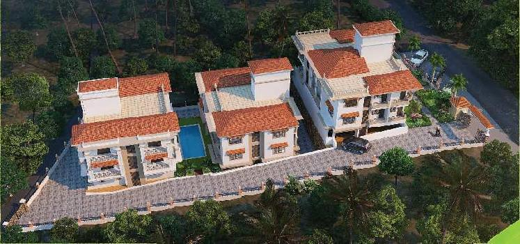 2 BHK Flats & Apartments for Sale in Nachinola, North Goa, Goa