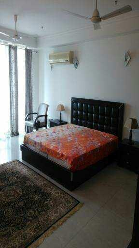 This is a 4 bhk + 1 servent room apartment is avialable for rent in Dlf crest on Sector 54 ,Golf course road . This proprty available is Tower E.