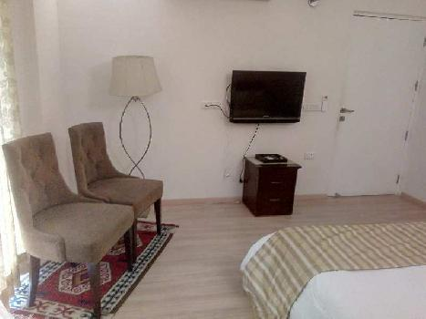 This is a 4 bhk + 1 servent room apartment is available for rent in Dlf park place in Sector 54 ,Golf course road . This property available is Tower k