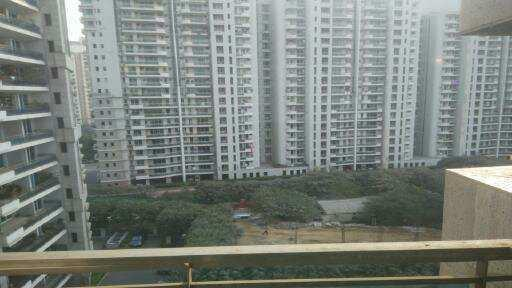 This is a 4 bhk + 1 servant room apartment is available for rent in Dlf pinnacle in  Sector 43 ,Golf course road . This property available in Tower D