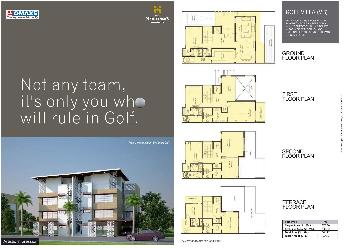 Omaxe Presents Golf Villa (VB) in Sec 27 Greater Noida Delhi NCR