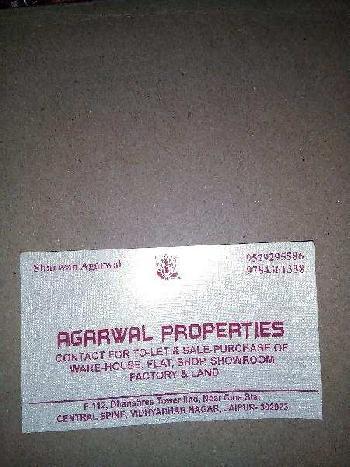 Residential Plot For Sale In Vidyadhar Nagar, Jaipur