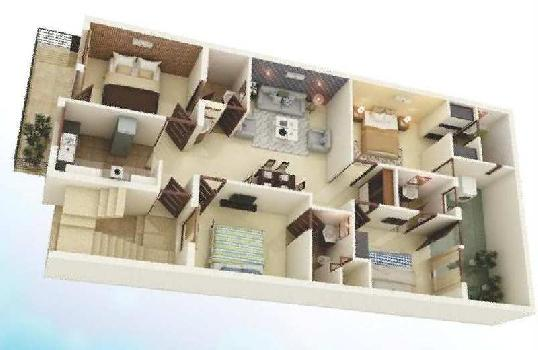 4 BHK Luxury Apartments At very Reasonable Price