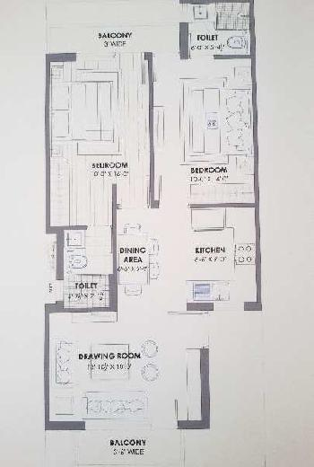 2 bhk Flat for Sale At Affordable Price In Sector 115 Mohali