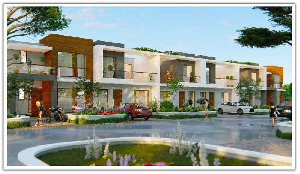 100 Sq yards 4 BHK Double story House in Mohali