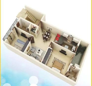1000 Sq ft 2 bhk  Flats in Sector 117 Mohali