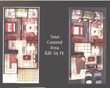 2 BHK 1000 sq ft Area Flats in Sunny Enclave Mohali