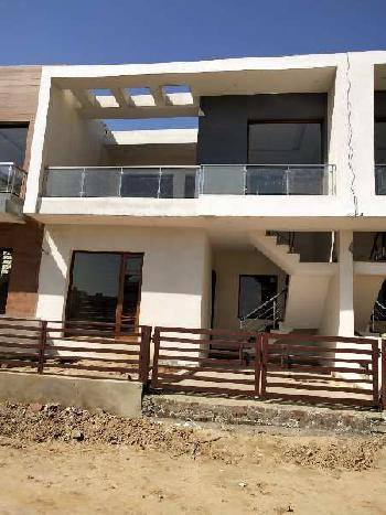 3 Bhk Double Storey House In Sec-123 Mohali