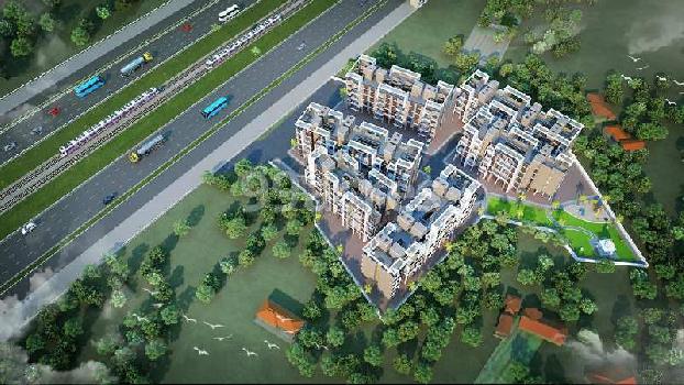 AVAILABLE 1 BHK 1 RK IN LANMARK HERITAGE NEW PANVEL NAVI MUMBAI