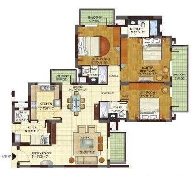 Flats And Apartments Aavailable At Prime Location