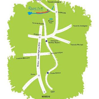 """River Touch Developed NA Plots & Bungalow at Shahapur Rs. 379 per sqft"""