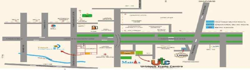325 Sq.ft. Commercial Shops for Sale in Sector 132, Noida