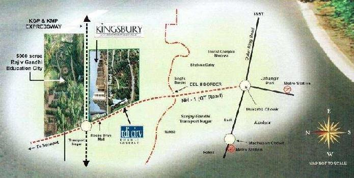 Residential Plot for Sale in Tdi City, Kundli