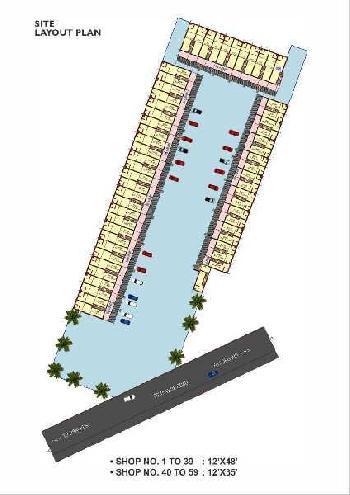 64 Sq. Yards Showrooms for Sale in Ambala Road, Zirakpur