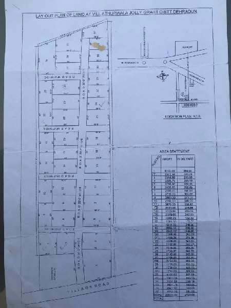 Plot for sell at near Jolly grant airport