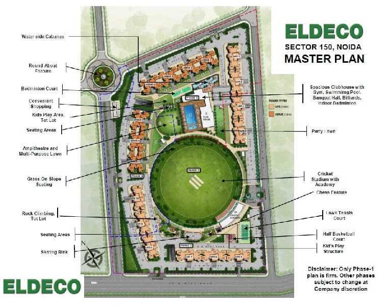 2 BHK Flat For Sale In Eldeco Live By The Greens, Sector 150,Noida