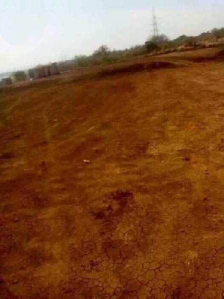 3 Acre industry NA land with compound wall